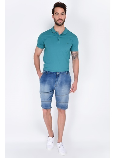 Rodi Jeans Şort Mavi
